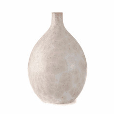 Simon Pearce Crystalline Teardrop Vase - Medium Candent