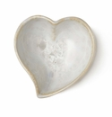 Simon Pearce Crystalline Twist Heart Bowl Candent
