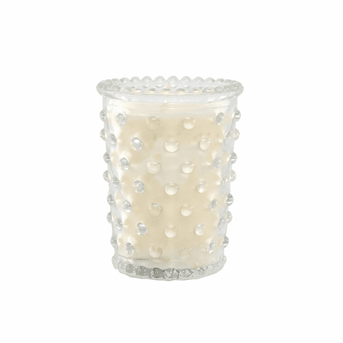 Simpatico 3.5oz Votive Hobnail Candle - Scotch Pine