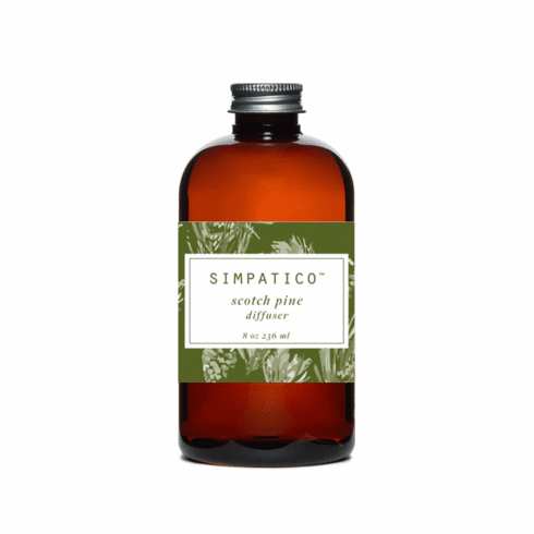 Simpatico 8oz Diffuser Oil Refill - Scotch Pine