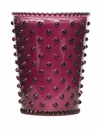 Simpatico Hobnail Glass Candle Fig (No. 98)
