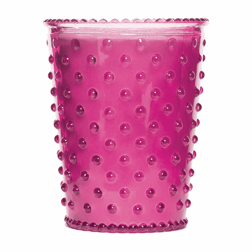 Simpatico Hobnail Glass Candle Grapefruit Mint (No. 15)