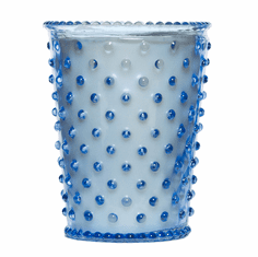 Simpatico Hobnail Glass Candle Lavender (No. 64)