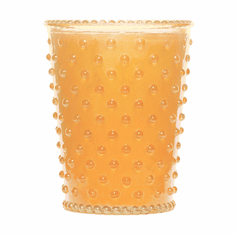 Simpatico Hobnail Glass Candle Orange Blossom (No. 87)