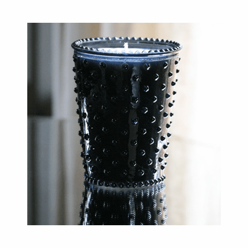 Simpatico Home 16 Ounce Hobnail Glass Candle - Ambergris (No. 72)