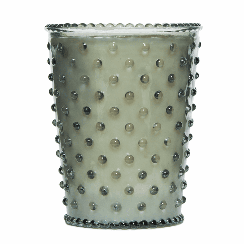 Simpatico Home 16 Ounce Hobnail Glass Candle - Fern (No. 17)