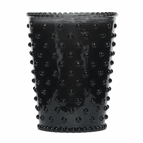 Simpatico Home 16 Ounce Hobnail Glass Candle - Forest Night (No. 27)