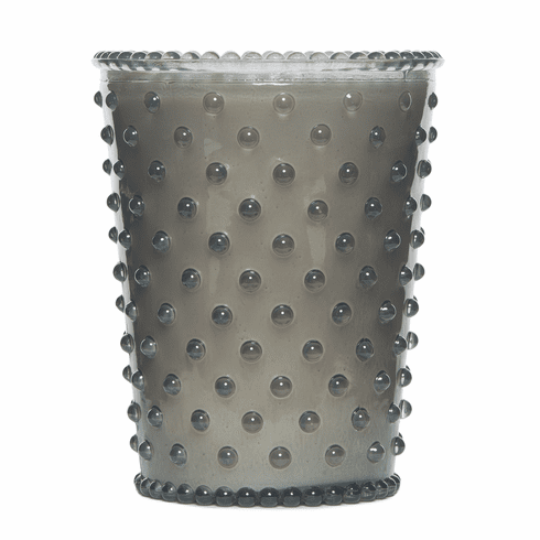Simpatico Home 16 Ounce Hobnail Glass Candle - Violet (No. 83)