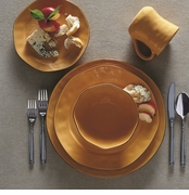 Skyros Designs Cantaria Golden Honey Dinnerware