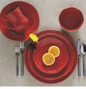 Skyros Designs Cantaria Poppy Red Dinnerware