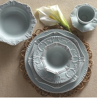 Skyros Designs Isabella Ice Blue Dinnerware