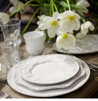 Skyros Designs Isabella Pure White Dinnerware
