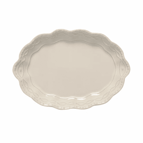 Skyros Designs Legado - Small Oval Platter Pebble