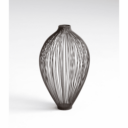 Small Celestine Iron Wire Vase by Cyan Design