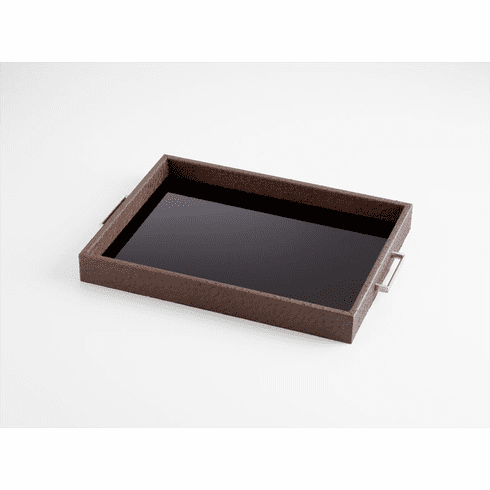 Small Chelsea Wood Tray by Cyan Design
