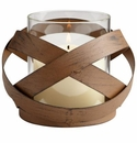 Small Infinity Candleholder by Cyan Design