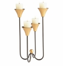 Small Iron Bell Tower Candleholder by Cyan Design
