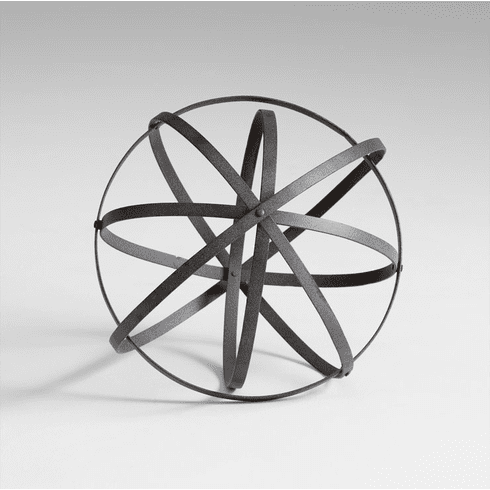 Small Iron Decorative Sphere by Cyan Design