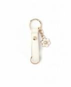 Spartina 449 Boutique Magnolia Keychain White