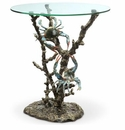 SPI Crabs & Coral End Table