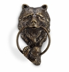 SPI Home Aluminum Bear Head Doorknocker