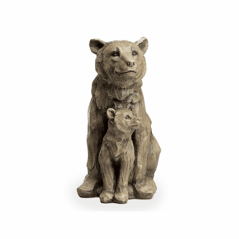 SPI Home Bear and Cub Desktop Decor