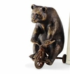 SPI Home Bear on Trike Paperweight