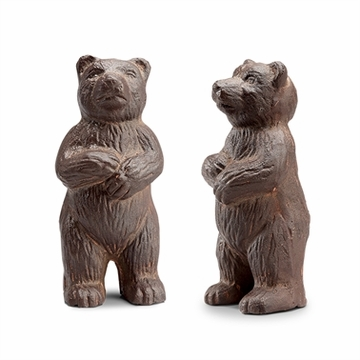 SPI Home Bear Paperweights Pack of 2