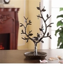 SPI Home Bird & Twig Jewelry Tree & Nest