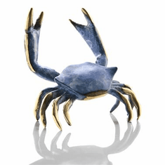 SPI Home Blue Crab Sculpture