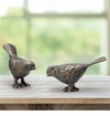 SPI Home Chatty Birds - Bronze Finish Pair
