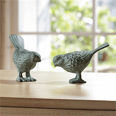 SPI Home Chatty Birds - Verdi Pair