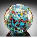 SPI Home Confetti Sphere/Paperweight