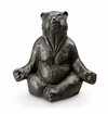SPI Home Contented Yoga Bear Garden Sculpture