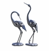 SPI Home Crane Pair LED Garden Sculpture
