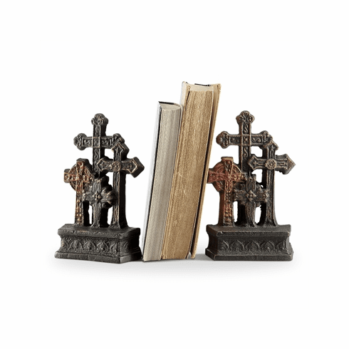 SPI Home Cross Bookends Pair