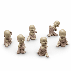 SPI Home Fighting Mini Monks Set of 6