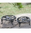 SPI Home Fleur de Lis Planter Stands Set of 2