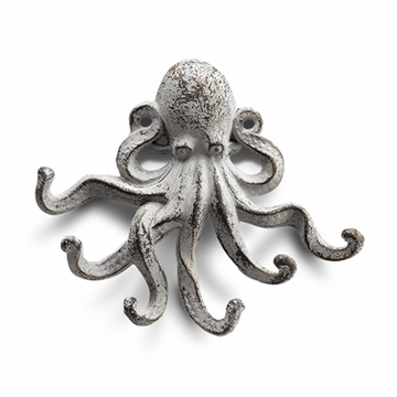 SPI Home Floating Octopus Key Hooks Pack of 4