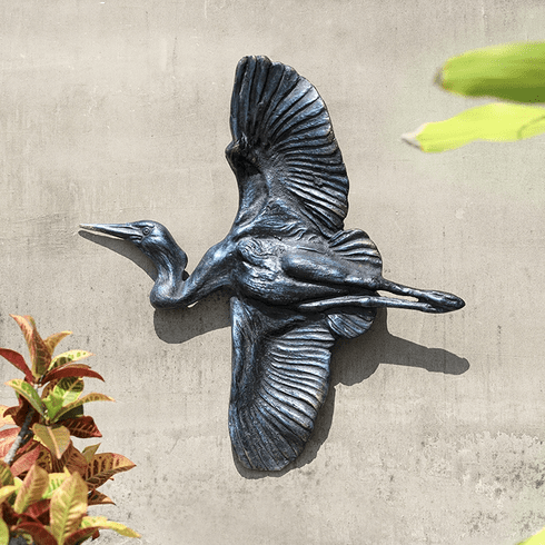 SPI Home Flying Heron Wall Decor