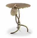 SPI Home Frog and Dragonfly End Table