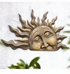 SPI Home Half Sun Wall Plaque