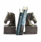 SPI Home Horsehead Bookends on Base Pair