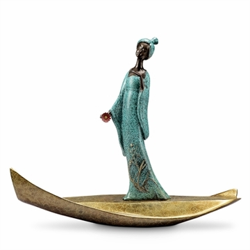 SPI Home Lady of Tang Actress Sculpture