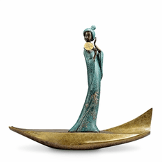 SPI Home Lady of Tang Musician Sculpture