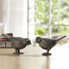SPI Home Large Chatty Birds - Bronze Finish Pair