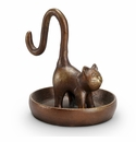 SPI Home Long Tailed Cat Jewelry Holder