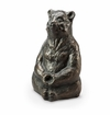 SPI Home Meditating Yoga Bear Garden Sculpture
