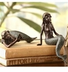 SPI Home Mermaid Shelf Sitters Set of 2