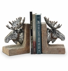 SPI Home Moose Bookends Pair